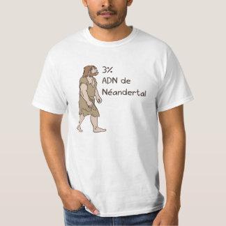 3% het Neanderthaler Frans T Shirt
