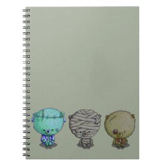 3 kleine Monsters Ringband Notitieboek
