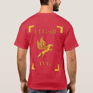 3 Roman Legio III Augusta Vexillum T-shirt