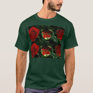3 stadia van ROZE Bloem: Grote GELUKKIGE Vieringen T Shirt
