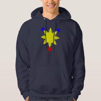 3 sterren en een zon hoodie