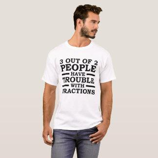 3 van de de Grappige T-shirt van 2 Mensen