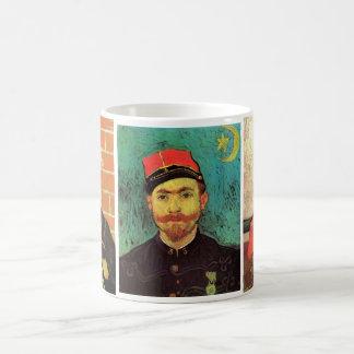 3 verschillende van Gogh Vintage Zouave Portretten Koffiemok