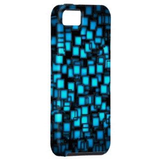 3d-blauw vectorart. iPhone 5 cases