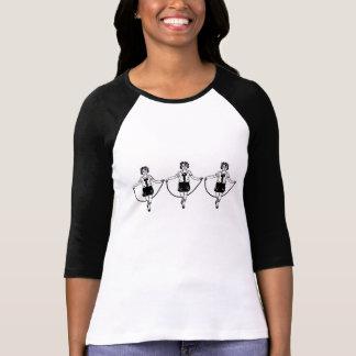 3D Drietallen van het Springtouw T Shirt