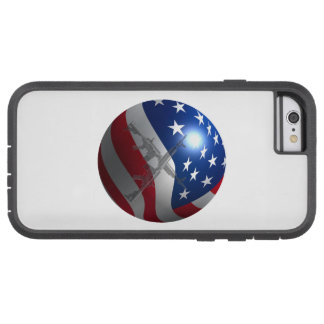 3D Gebied van de Vlag Tough Xtreme iPhone 6 Hoesje