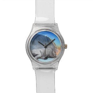 3D ijsbeer - geef terug Horloge