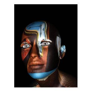 3d Illustraties van Dali op Koopwaar Briefkaart