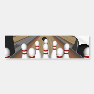 3D Model: De Spelden van het kegelen op Steeg: Bumpersticker