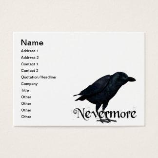 3D Nevermore Raaf Visitekaartjes