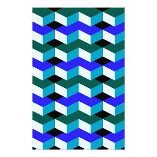 3d optische illusie gpersonaliseerd briefpapier
