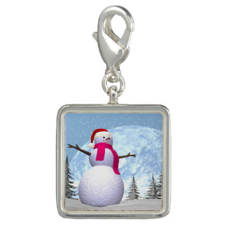 3D sneeuwman - geef terug Charms