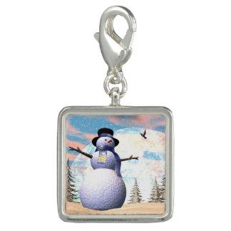 3D sneeuwman - geef terug Foto Charms