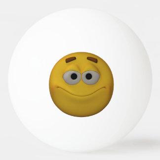 3D Stlyle die Emoticon glimlachen Pingpongbal