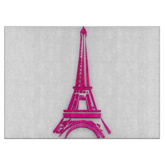 3d toren van Eiffel, Frankrijk clipart Snijplank