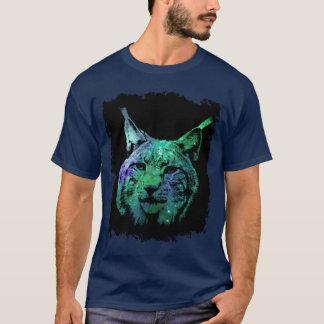 3D Wilde Kat van de Fantasie van de mystieke Lynx T Shirt