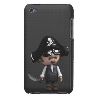 3d zonnebril van de Piraat iPod Touch Hoesje