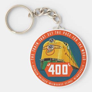 """400 ~ de """"Trein die het Tempo """" bepaalt Sleutelhanger"""