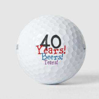 40 de Scheuren van de Bieren van de jaar Golfballen