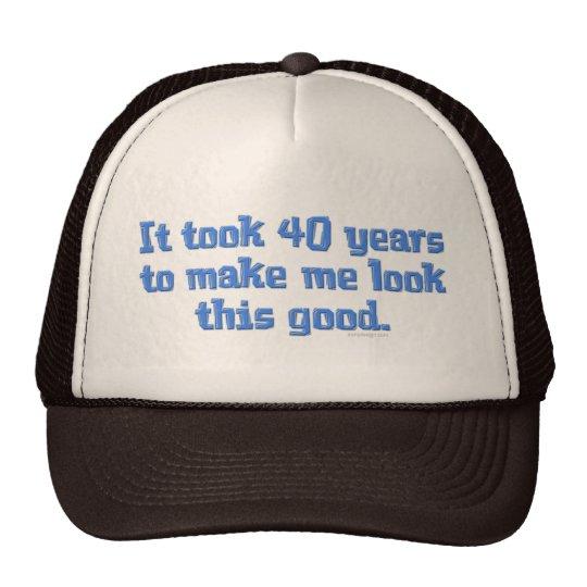 40 jaar Oud Trucker Pet