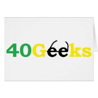 40 Materiaal Geeks Wenskaart