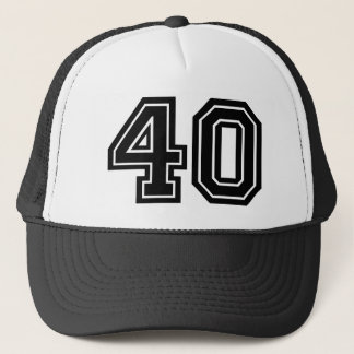 40ste Verjaardag Trucker Pet