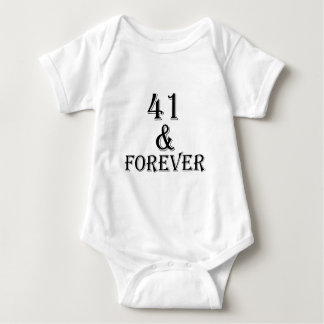 41 en voor altijd het Design van de Verjaardag Romper