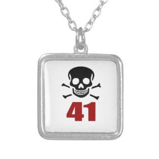 41 het Design van de verjaardag Zilver Vergulden Ketting