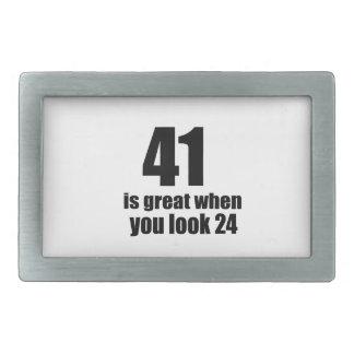 41 is Groot wanneer u Verjaardag kijkt Gesp