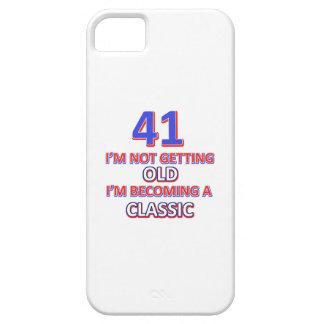 41 verjaardagsdesign barely there iPhone 5 hoesje