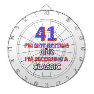 41 verjaardagsdesign dartborden