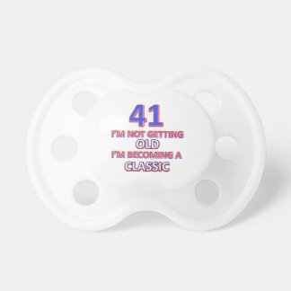 41 verjaardagsdesign fopspeen