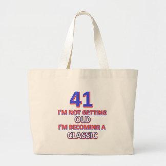 41 verjaardagsdesign grote draagtas