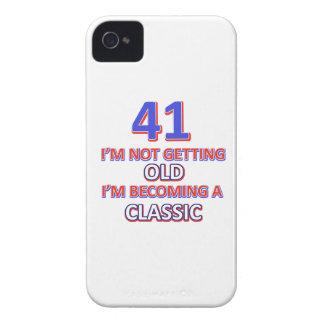 41 verjaardagsdesign iPhone 4 hoesje
