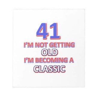 41 verjaardagsdesign notitieblokken