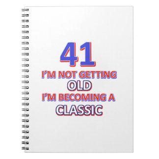 41 verjaardagsdesign notitieboek