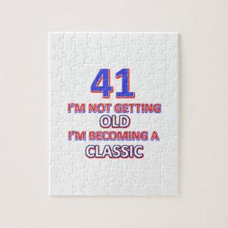 41 verjaardagsdesign puzzel