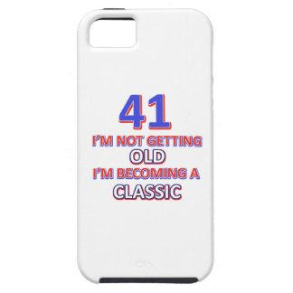 41 verjaardagsdesign tough iPhone 5 hoesje