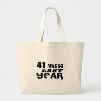 41 zo was zo vorig jaar het Design van de Grote Draagtas