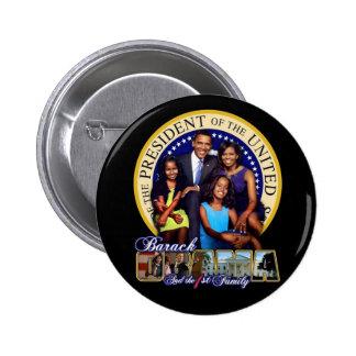 44ste president ronde button 5,7 cm