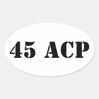 45 ACS munitie kan sticker