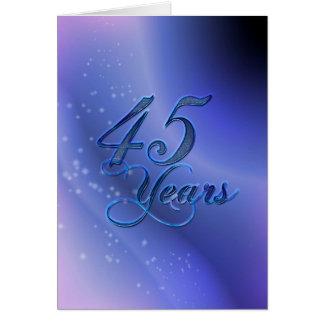 45 jaar (verjaardag) briefkaarten 0