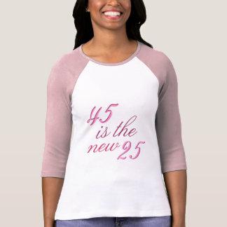 45ste Grap 45 van de Verjaardag is nieuwe Grappige T Shirt