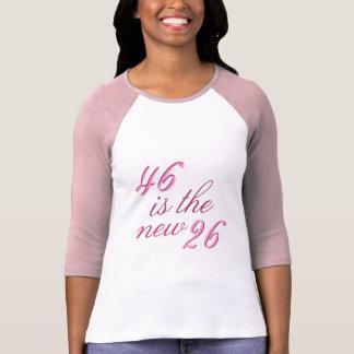46ste Grap 46 van de Verjaardag is nieuwe Grappige T Shirt