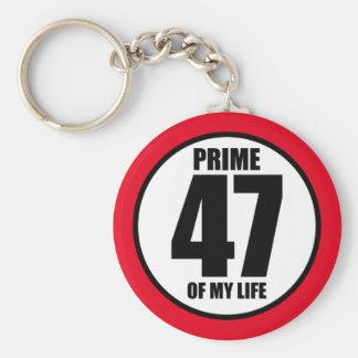 47 - eerste van mijn leven sleutelhanger