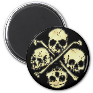 4 de Magneten van schedels