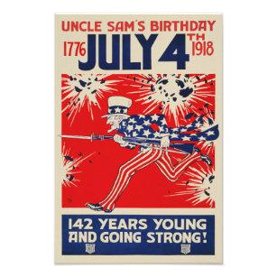 Oom Verjaardag Kunst Posters En Afdrukken Zazzle Nl