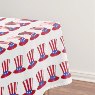 4 juli de Patriottische V.S. Oom Sam Stars Stripes Tafelkleed