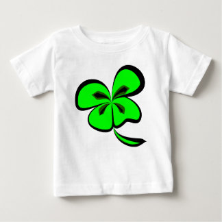 4 leaf clover baby t shirts