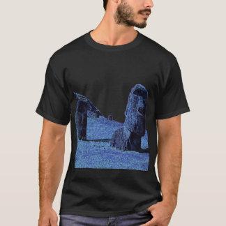 4 Moai, het Eiland T van Pasen T Shirt
